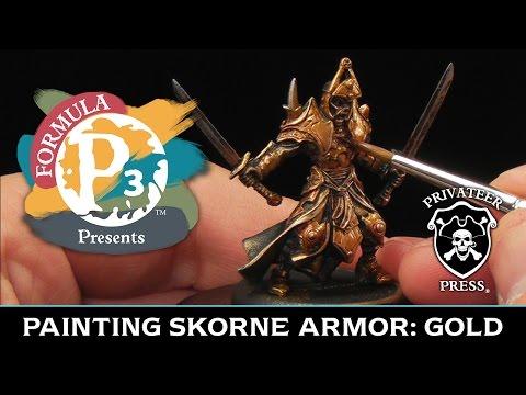 Formula P3 Presents: Painting Skorne Armor - Gold