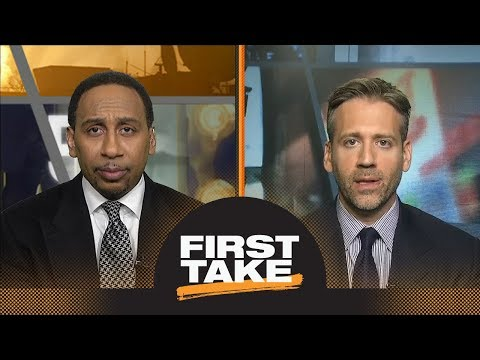Stephen A. and Max react to Warriors' Game 4 loss to Spurs | First Take | ESPN