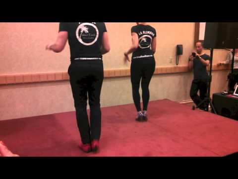 Ataca Y Alemana- advanced bachata footwork and partnerwork workshop, VISF 2013