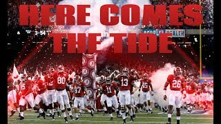 Alabama Football Hype