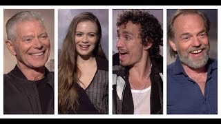 MORTAL ENGINES Fun Cast Interviews: Hera Hilmar, Robert Sheehan, Jihae, Leila George, Hugo Weaving