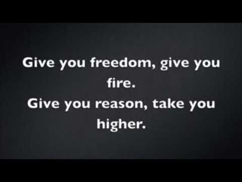 Give Me Freedom Give Me Fire Song With Lyrics