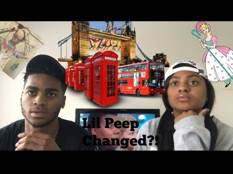 REACTING TO NEW LIL PEEP? LIL PEEP NO RESPECT FREESTYLE AND OTHER MUSIC REACTION!!