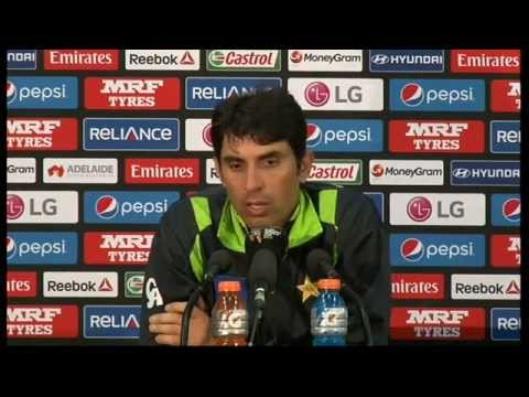 Live Post-Match Press Conference Pakistan v Ireland, Adelaide