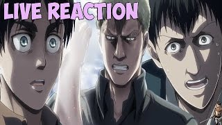 Attack on titan season 2 episode 6 live reaction - the biggest betrayal witnessed!!! 進撃の巨人
