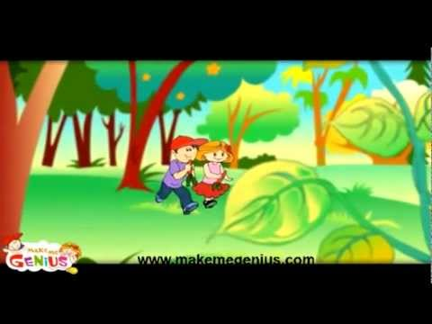 Parts of a plant -Hindi (हिंदी) Educational video for Children