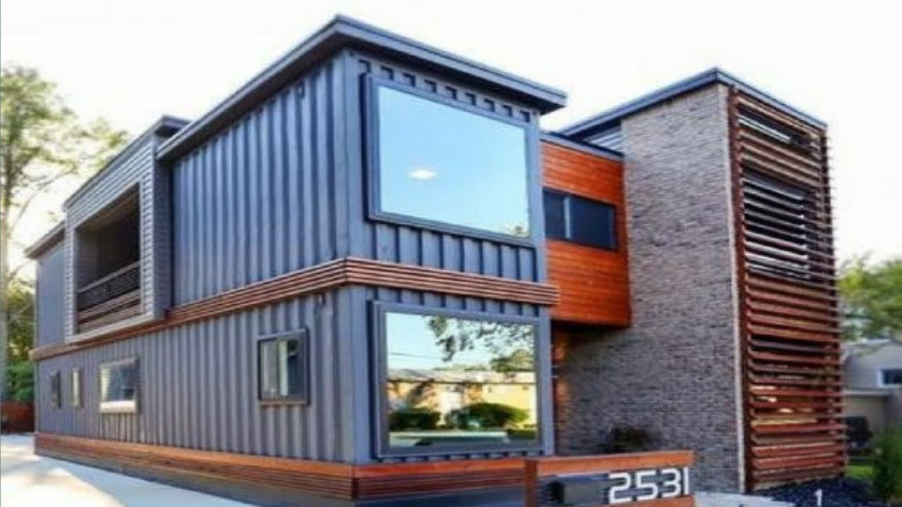 the royal oak shipping container house