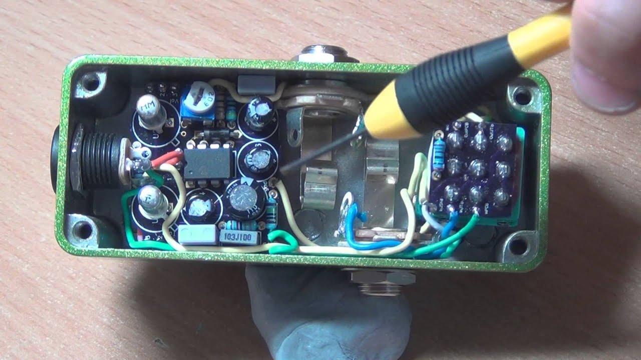 Diygp Facemaster 1590a Fuzz Face Build Report Youtube Circuit