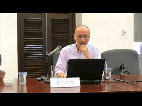 The Singapore Symposium in Legal Theory 2017: Talk by Professor Joseph Chan