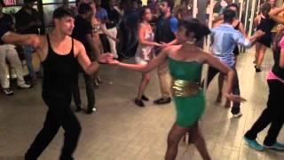 Salsa dancer Nery Garcia and Partner in Goa,India