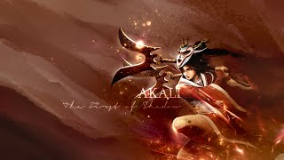 league of legends akali montage p a r a n o ii d