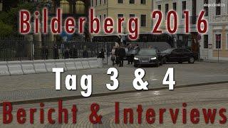 Bilderberg Konferenz in Dresden - Samstag & Sonntag | Bericht