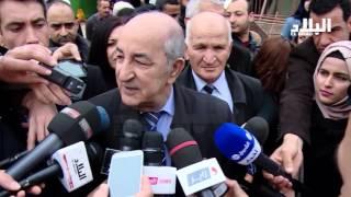 """تبون يتحدث عن وجود """" مؤامرة """" لضرب قطاع السكن في الجزائر  -el bilad tv -"""