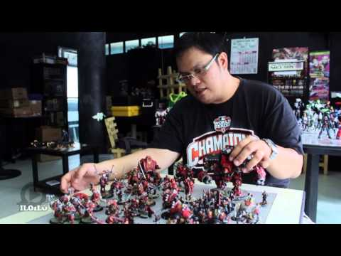 interview: Hans Christian Requillo (Tabletop Game Miniature Collector)