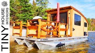 Le Koroc Tiny House Boat: The Perfect Floating Tiny Home   Tiny House Interiors