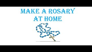 DIY Rosary