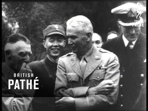 Chiang Kai Shek Host To Allied Leaders In Asia (1940-1949)