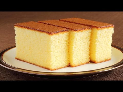 Sponge Cake without Oven    Basic Plain & Soft Sponge cake    w/ Eng. Subtitles