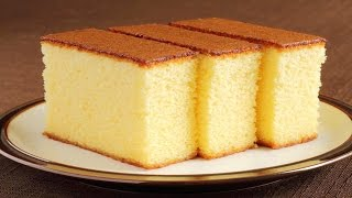 Sponge Cake without Oven || Basic Plain & Soft Sponge cake || w/ Eng. Subtitles