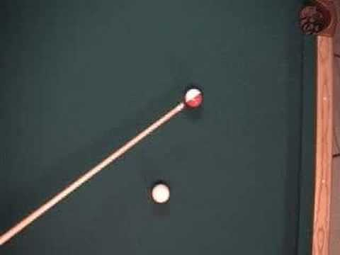 Using the cue stick to aim pool shots - ghost ball aiming system (NV 3.2)