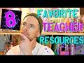 8 Great Teacher Resources | High School Teacher Vlog