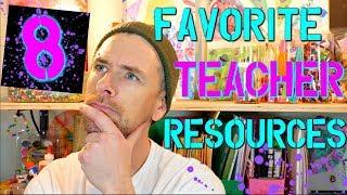 8 Great Teacher Resources | High School Teacher Vlog