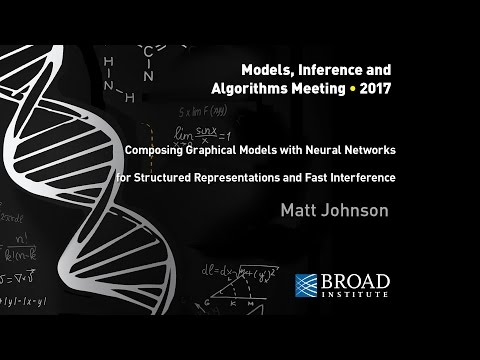 MIA: Matt Johnson, Composing graphical models with neural networks; Scott Linderman