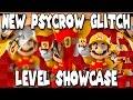 NEW PSYCROW GLITCH LEVEL?! Super Mario Maker