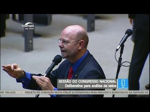Congresso - Vetos e projeto - TV Senado ao vivo - 03/04/2018