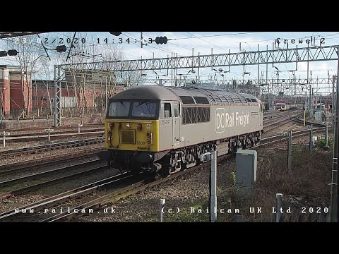Railcam Free View - Crewe Camera 2 -  Register FREE at www.railcam.uk for more....