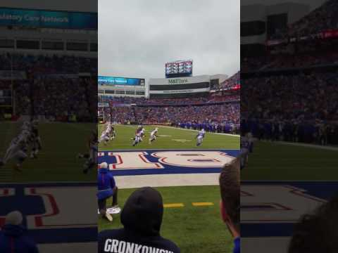 Buffalo Bills Fan throws dildo at Chris Hogan
