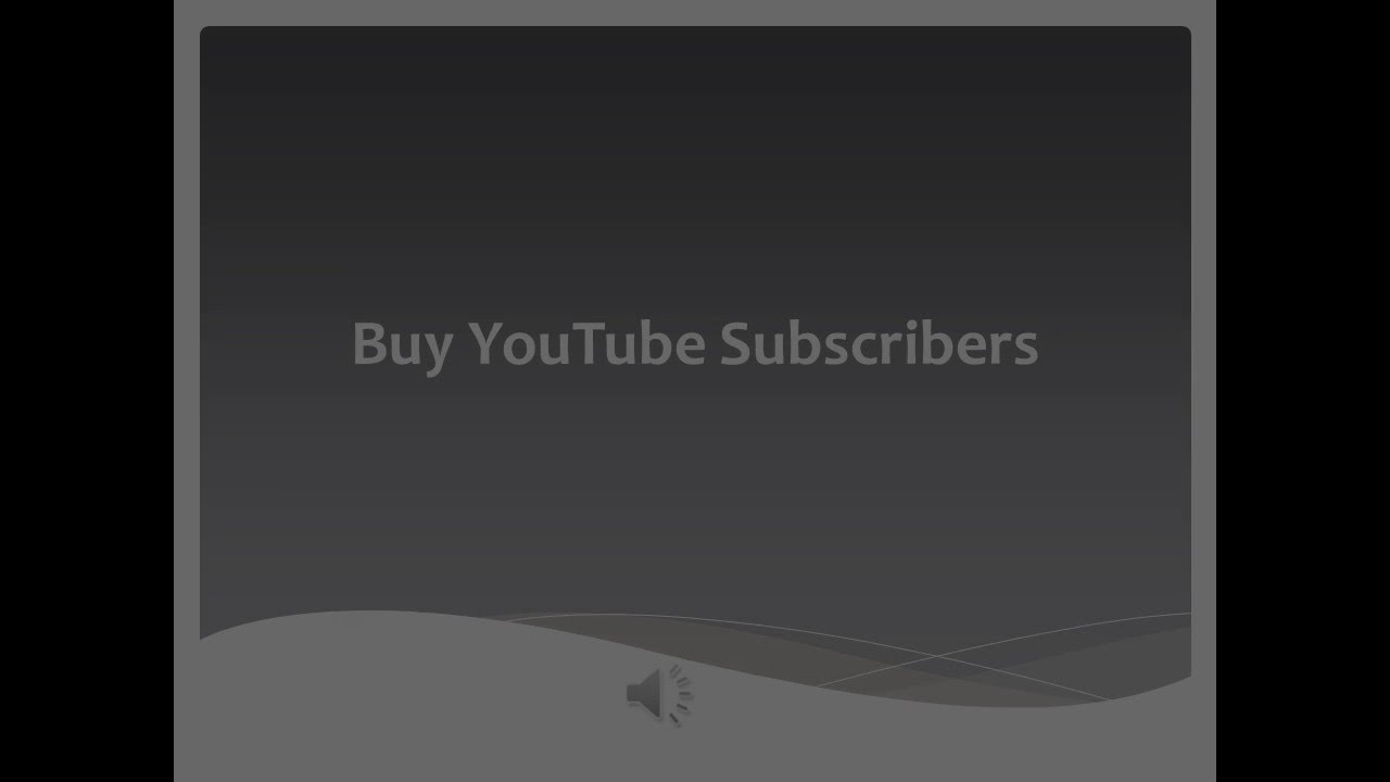 Buy Youtube Subscribers ❶that Sticks❷ Views, Likes and Comments From Real  People