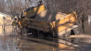 Devastation from the flooding in Southeast Missouri - 1/1/2016