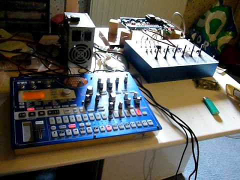 Korg EMX-1 Electribe – The 80's Time Machine – Jim Atwood in Japan