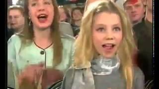 """""""Музыкальный ринг"""" Ирина и Виктор Салтыковы.1999 год."""