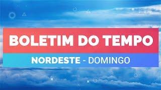 Previsão Nordeste – Frente fria no sul da Bahia