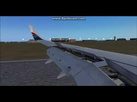 [FSX] Arik air B737-800 landing in Niamey Diori Hamani International Airport(DRRN)