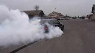 Mercedes-Benz W124 E500 swap M113 55 AMG kompressor burnout
