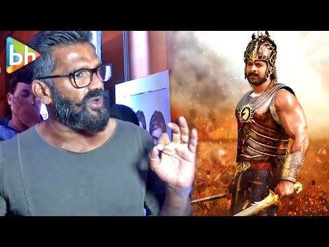 Thumbnail: Suniel Shetty AMAZING Reaction On Baahubali 2 1000 Crores Collection
