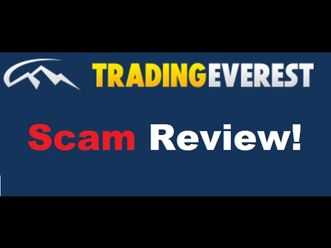 Trading Everest (Old NEW SCAM) Stay Away! - YouTube