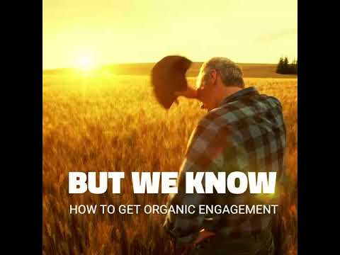 We don't know how to do organic farming