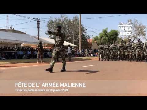 Défilé militaire du 20 janvier 2020, lors de la Fête de l´Armée Malienne (FAMa)