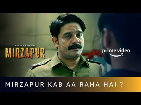 Mirzapur Kab Aa Raha Hai?  |  Mirzapur x Paatal Lok |  Amazon Prime Video
