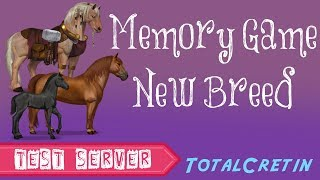 Memory Game & New Breed - Howrse Test Server