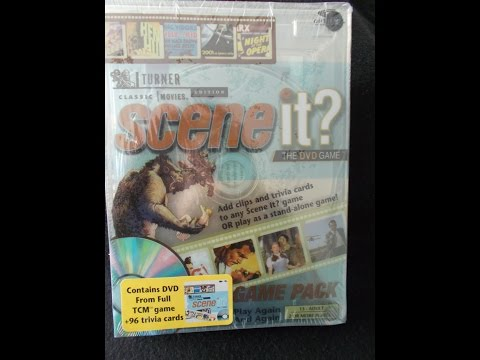 Opening To Scene It?:Turner Classic Movies Edition 2005 DVD