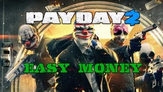 Payday 2 Quick Easy Money on Vlad: Four Stores Overkill! Using the ECM JAMMER!