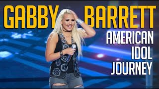 #1 Hit Country Singer Gabby Barrett: Her American Idol Journey [ALL Performances]