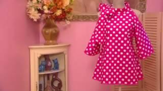 Как сшить блузку из ситца | Ольга Никишичева
