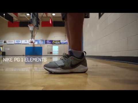b88b550159dc NIKE PG 1 ELEMENTS ON COURT - YouTube