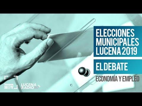 Debate Elecciones Municipales Lucena 2019 (2): Economía y Fomento del Empleo